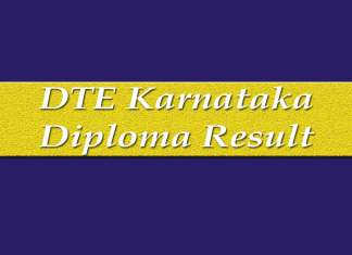 The Board of Technical Examinations which functions under Department of Technical Education of Karnataka government has declared the diploma examination results.
