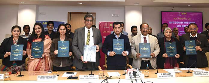 NITI Aayog and Dell EMC launch student entrepreneurship programme under Atal Innovation Mission