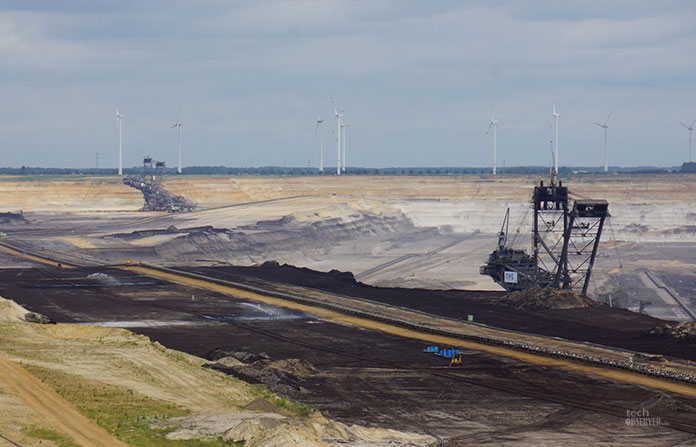 The lignite quarry which was 800 meters away from his village is expanding and moving even closer
