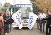 Ford launches App based shared bus service in Pune