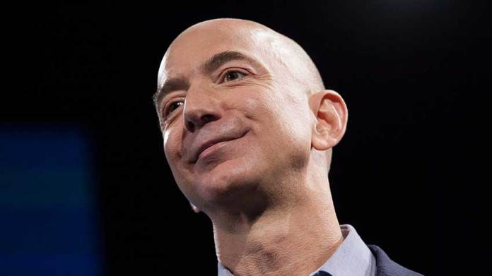 Amazon grew faster than the overall market.
