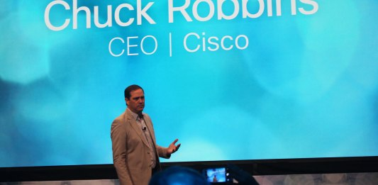 Cisco CEO Chuck Robbins (Photo: TechObserver)