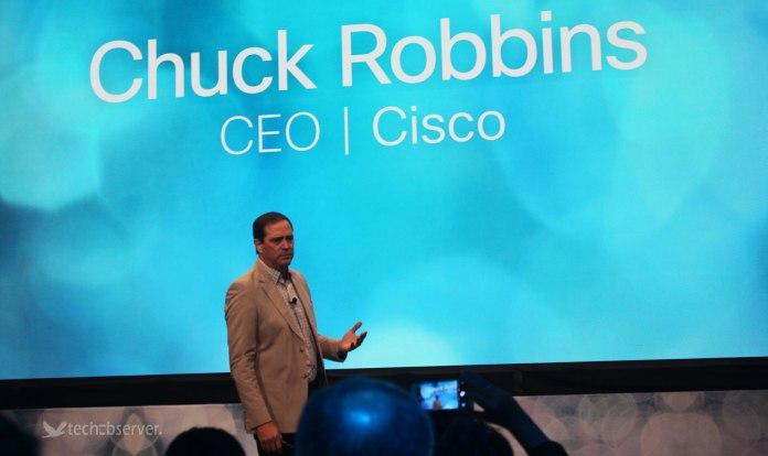 Cisco CEO Chuck Robbins (Photo: TechObserver)