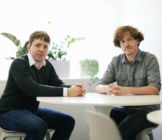 SigOpt CEO and co-founder Scott Clark (left) and CTO and co-founder Patrick Hayes will join the Machine Learning Performance team at Intel.