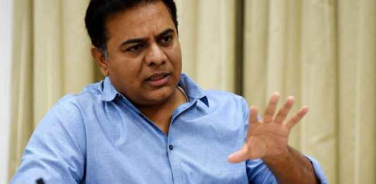 Telangana Industry and Information Technology Minister KT Rama Rao