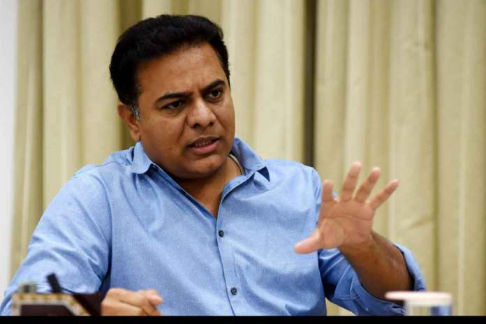 KT Rama Rao, Minister for Municipal Administration & Urban Development, Industries, and IT & Commerce, Telangana