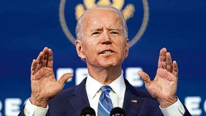 U.S President Joe Biden