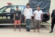 The arrested three youth are — Md. Khalil Sheikh (21) of Chatlarpar village, Shawkat Matubbar (22) of Matbarkandi village and Md. Maruf Hawladar (20) from Magra village. (Photo: File)