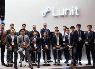 Lunit Team during RSNA 2019 (File Photo via Twitter: @Lunit_AI)