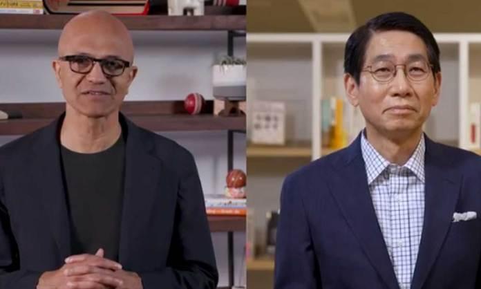 Satya Nadella & Takayuki Morita