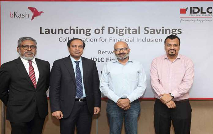 IDLC Finance and bKash join hands to sell term savings services