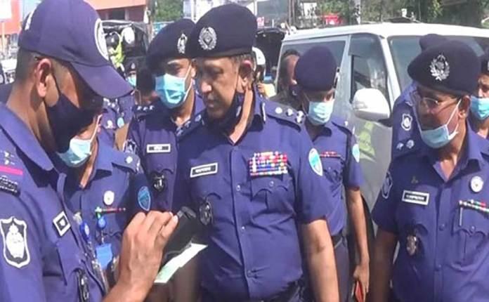 e-Traffic Prosecution, Police