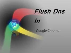 Flush Dns In Chrome .