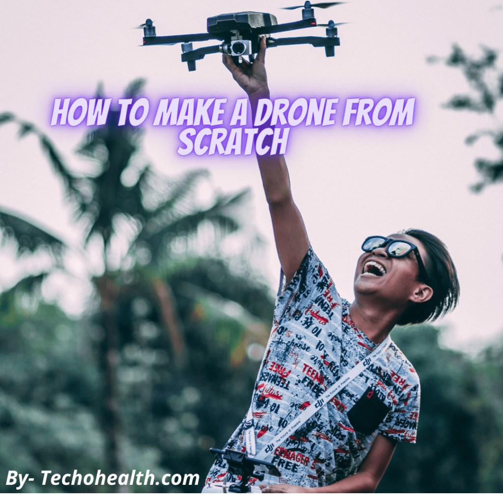 w to make a drone at home step by step