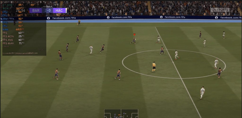 Nvidia GeForce GT 1010 Performance for FIFA 2021