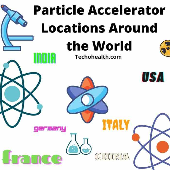 Particle Accelerator Locations Around the World