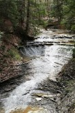 Cuyahoga Valley National Park has several beautiful waterfalls.