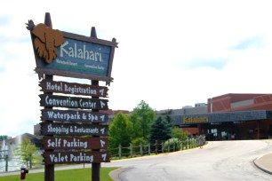 Kalahari offers a fun family stay for those visiting Sandusky, Ohio.