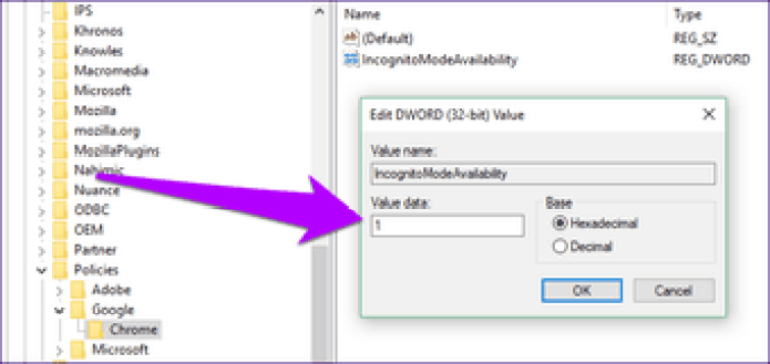 Disable Chrome Incognito Mode 4