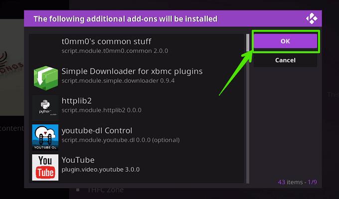 Install ChronosIPTV Addon 8