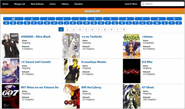 As a MangaFox alternative, of course this website is also a leading platform to read manga comics.