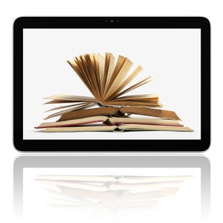 """Digital Book"" image via Shutterstock"