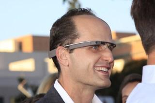Google Glass image via Shutterstock