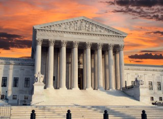U.S. Supreme Court building (image via Shutterstock)