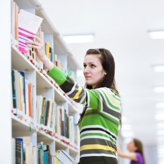 Undergrads on average spend more than $1,200 annually on books and supplies. (Photo credit: Lightpoet)