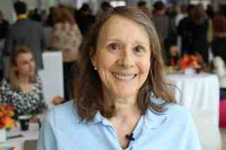 Esther Dyson at last month's DLDnyc conference.