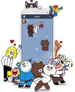 line-facebook-china
