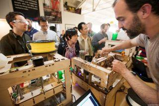 Making things at TechShop Palo Alto.