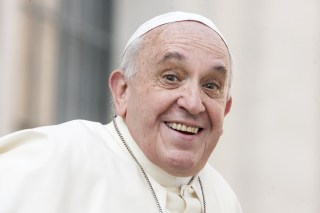 The Good 'Ole Pope, Über-Celebrity/Influencer (image via Shutterstock)