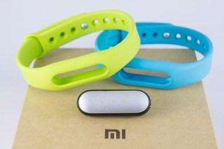 Xiaomi's fitness tracker, Mi Band. Photo via danupop.m / Shutterstock