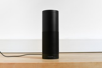 An Amazon Echo device (Courtesy of Shutterstock)