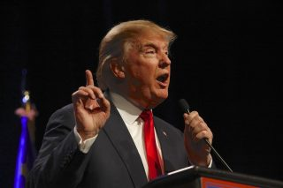 Donald Trump appeals to white Americans who are suffering, argues research psychologist Buckwalter. (photo courtesy Shutterstock)