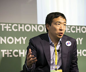 Andrew Yang at Techonomy