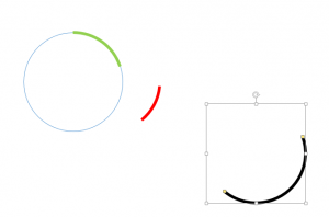 Drag shapes to base plasmid - Draw plasmid using powerpoint