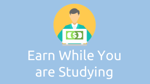 Earn money online while studying