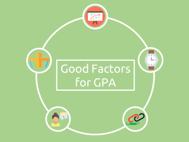 Factors responsible for Good GPA