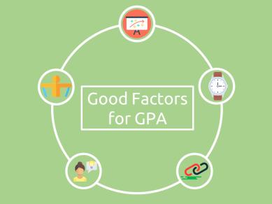 Factors responsible for Good GPA