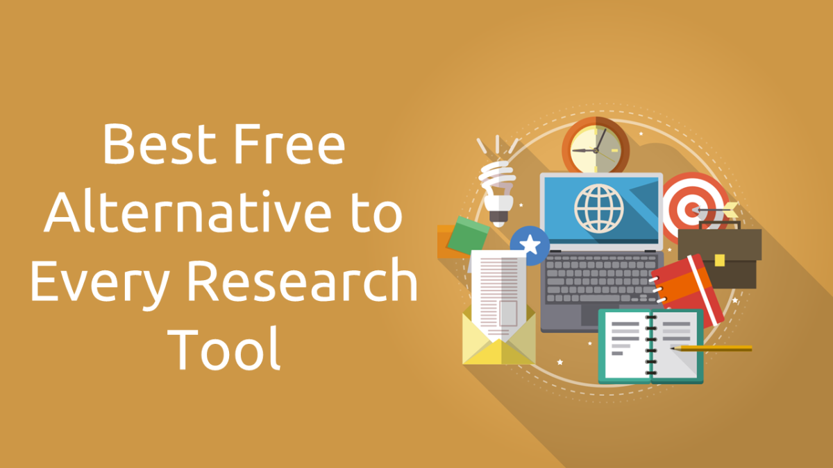 Free Alternatives to Paid Research Tools