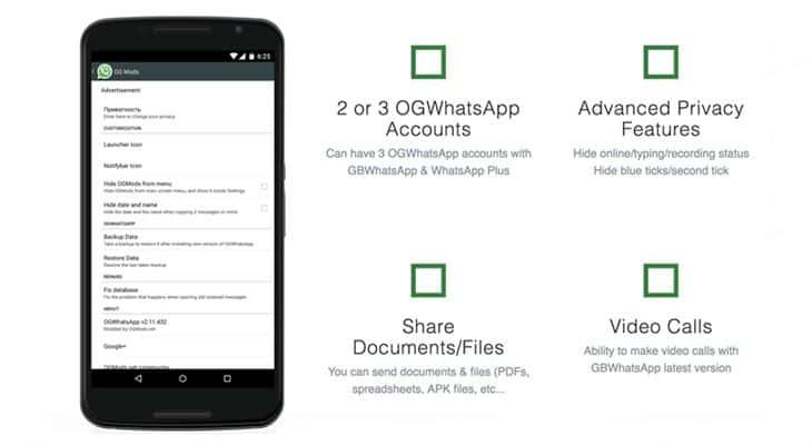 OGWhatsApp Latest Version 8.0 Features - Techorhow