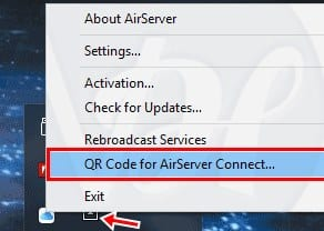 Airserver QR Code Scanner