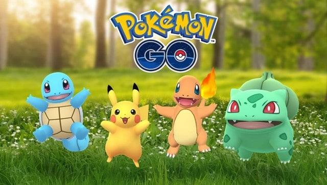 Play Pokemon Go Starters