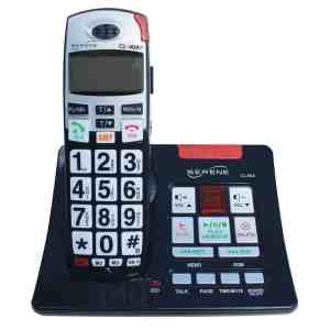 cordless phone with answering machine and amplification