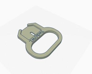 3D printed key helper