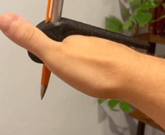 Palm Pen Holder