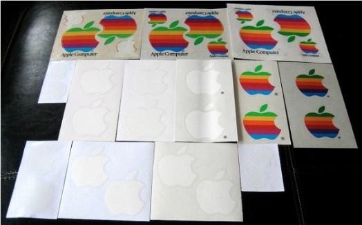 歷代蘋果貼紙