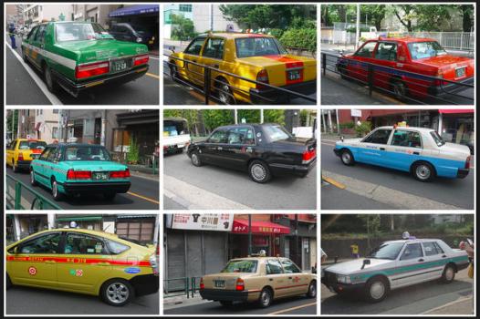 日本各式計程車
